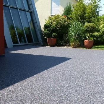 Taş Halı Veranda - Bahçe Zemin Kaplama-Taş Halı, Stone Carpet